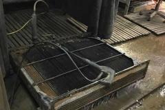 Чистка радиаторов охлаждения грузовых автомобилей