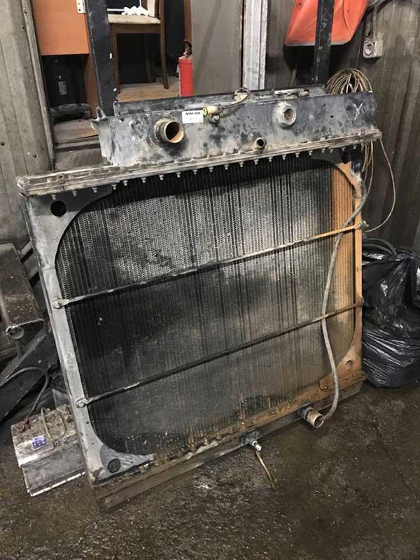 Чистка и промывка радиатора пример работы