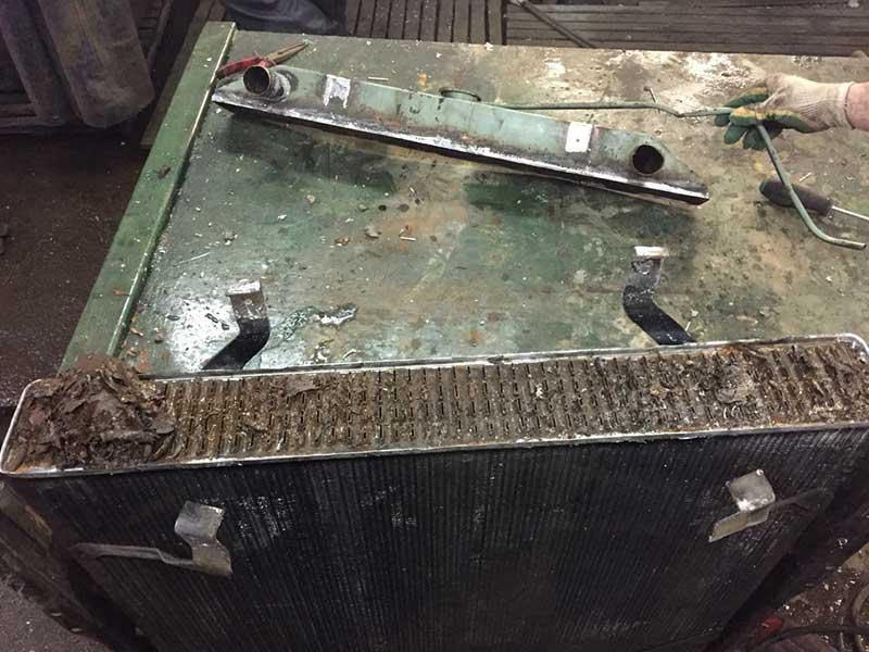 Чистка и промывка радиаторов в Москве
