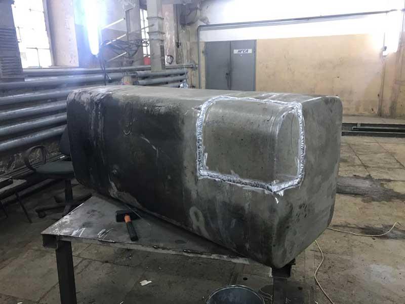 ремонт топливново бака