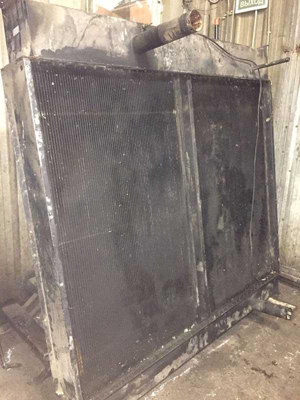 Ремонт больших радиаторов энергостанции