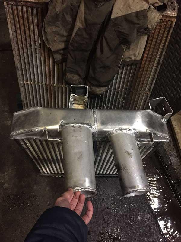 интеркулеры ремонт