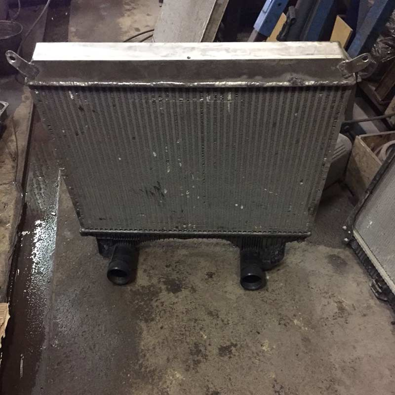 Изготовление алюминиевых бачков радиатора